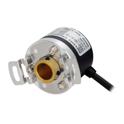 E40HB12-800-3-T-24  40mm Gövde Çapı 12-24vdc  Push Pull 800 Puls 12mm Delik Çapı Arttırımlı Enkoder