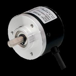 E40S6-192-3-V-24  40mm Gövde Çapı 12-24vdc Voltaj Çıkışlı 192 Puls 6mm Mil Çapı Arttırımlı Enkoder
