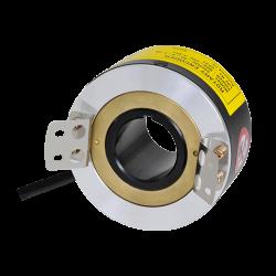 E80H30-3200-6-L-24  80mm Gövde Çapı 12-24vdc Line Drive Çıkışlı 3200 Puls 30mm Delik Çapı Arttırımlı Enkoder
