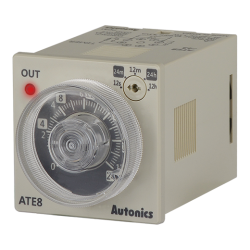 ATE8-4CD Analog Zamanlayıcı
