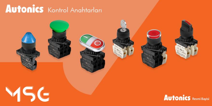 Autonics Kontrol Anahtarları