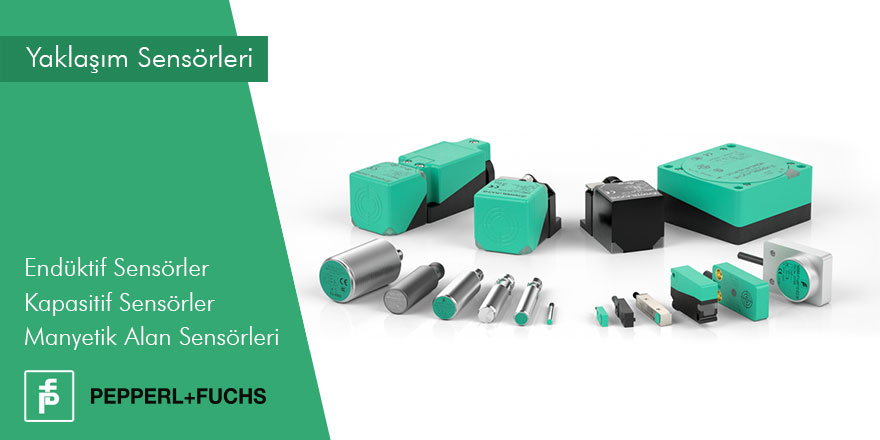 Pepperl-Fuchs | Yaklaşım Sensörleri