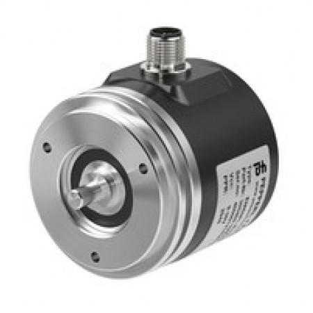 ENI58PL-S06SA5-1024CGR-RBE 58mm Gövde, 6mm Servo Flanş, M12 8 Pin Konnektörlü PRogramlanabilir Artımlı Enkoder