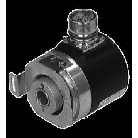 ENI58PL-R10DA5-1024CGR-RAA 58mm Gövde, Delik Çapı 10mm, M23 12 Pin Konnektörlü (Saat Yönü), Programlanabilir Artımlı Enkoder