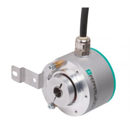 ENI58PL-R15DA5-1024CGR-RC1 58mm Gövde, Delik Çapı 15mm, 1m Yandan Çıkış Kablolu, Programlanabilir Artımlı Enkoder