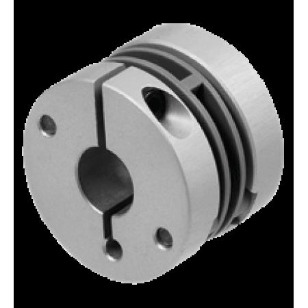 9404 12*12  Çap:30mm, Boy:22mm, d1 = 12 mm , d2 = 12 mm, Çelik yaylı Kaplin