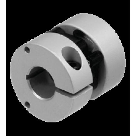 9410 10*10 Çap:25mm, Boy:25mm, d1 = 10 mm , d2 = 10 mm, Çelik yaylı Kaplin