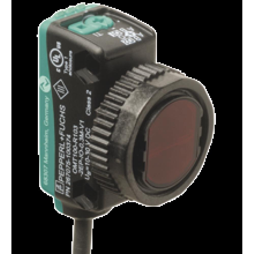 OQT120-R103-2EP-IO-0,3M-V31 Kübik Minyatür IO-Link 8 - 120mm Algılama 2 x PushPull Çıkışlı Kırmızı Işık 0,3m Kablolu M8 4 Pin Soketli Ölçüm Temelli Mesafe Sensörü