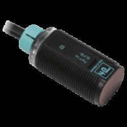 GLV18-55/115/120  M18 Kısa Plastik Gövde 10-30VDC 4000mm Algılama PNP NO + NC Çıkışlı Kırmızı Işıklı 2m Kablolu Reflektörlü Fotosel