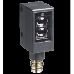 ML4.2-8-H-60-RT/40b/95/110  Minyatür Kübik Arka Fon Bastırmalı Kırmızı Işık, 60 mm Algılama, Push-Pull L.On / D.On Çıkış, M8 4 Pin Konnektörlü Cisimden Yansımalı Fotoelektrik Sensör