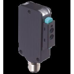 MLV41-LL-IR-2492 Metal Kübik 160mm Algılama PNP L.on + D. on Infrared Işık M12 Konnektörlü Fiberoptik Sensör