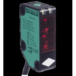 RLK31-8-2500-IR/31/115  Plastik Kübik 2500 mm Algılama, AC/DC Besleme, Infrared Işık, light on, Röle Çıkış, Kablolu Cisimden Yansımalı Fotosel