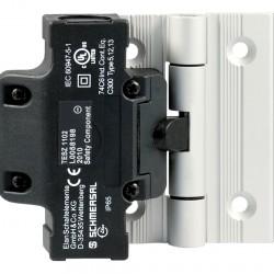TESZ10   1 x  NC Kontaklı, Ek menteşe, Menteşeli koruma kapıları için emniyet anahtarı