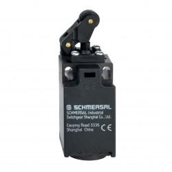 TK 236-20Z  2 x NO kontak, Termoplastik, Sapmalı makara kolu switch