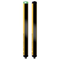 SLC440COM-ER-0810-30  810mm Yükseklik, 30mm ışın merkez aralığı, 2 x dijital emniyet çıkışlı, Işıklı güvenlik perdesi,