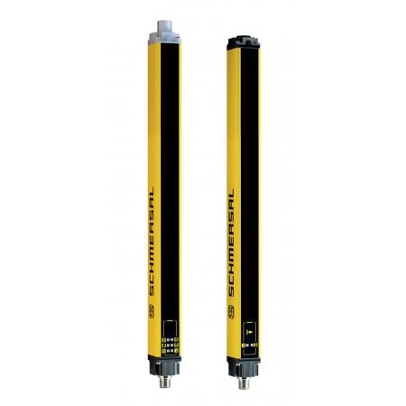 SLC445-ER-1610-30-01  1610mm Yükseklik, 30mm ışın merkez aralığı, 2 x dijital emniyet çıkışlı, Işıklı güvenlik perdesi,