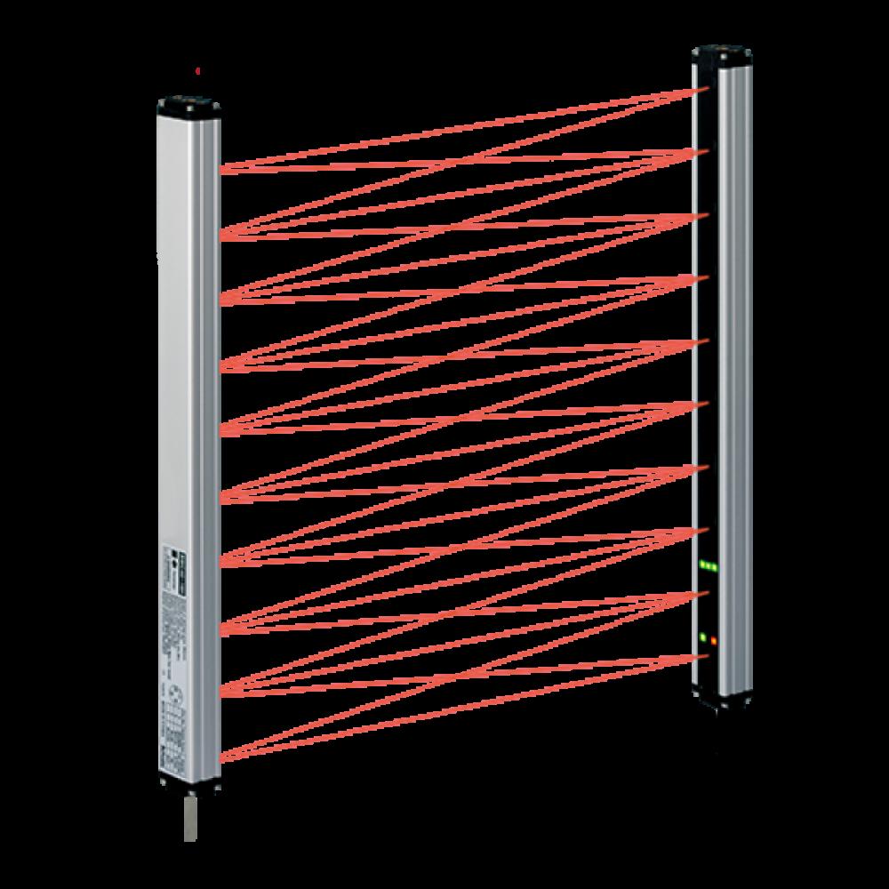 BWC40-04H Çapraz Işınlı Algılama Yüksekliği 120mm Algılama Mesafesi 7m Alan Sensörü