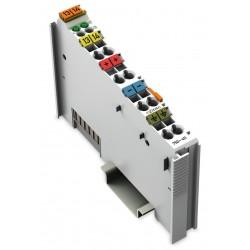 750-411 2 Kanal DI, 24 V DC, 0.2 ms y.k.a, proximity switch bağlanabilir